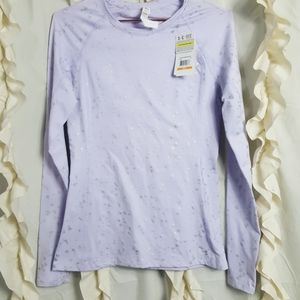 NWT Under Armour coldgear lavender pullover top